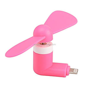 Wholesale Portable Mini Fan Cooling Cooler Cell Phone For iphone android mini usb fan as gift choice
