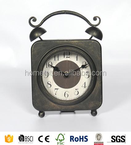 Unique Table Clocks Small Desk Clock Old Fashioned Table Clock