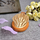 11 years experience professional wooden ball hair brush manufacturer, Eco-Friendly wooden decorative hair brush