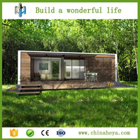 Prefab wooden model module house in saudi arabia