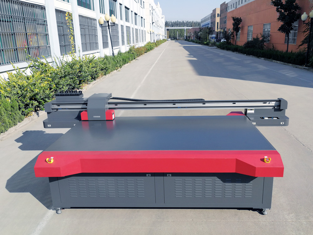 Industrial ceramic glass wood digital printing machine 2513 flatbed uv printer