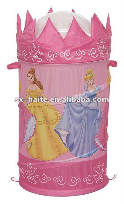 Pink Princess Laundry Hamper