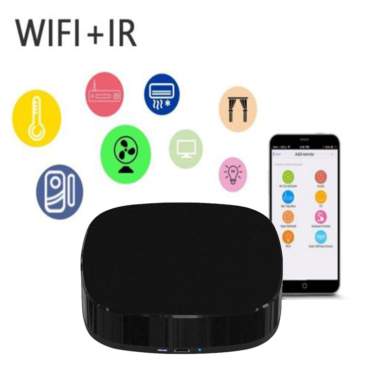 A1 WiFi Smart Controller Smart Home Wireless Universal Intelligent WiFi IR Switch Remote Control for Air Conditioner TV