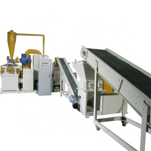 China Supplier Extrusion Equipment BS-800 Plastic And Aluminium Recycling Machinery For Millbery Copper Scrap Granulator