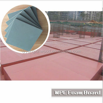 Promotional Sale Wpc Plastic Shuttering Sheet,Wpc Plywood Template,Pvc  Shuttering Material - Buy Plastic Shuttering Sheet,Plywood Template,Pvc