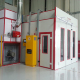 Advanced high quality car spray paint booth with CE and ISO approval