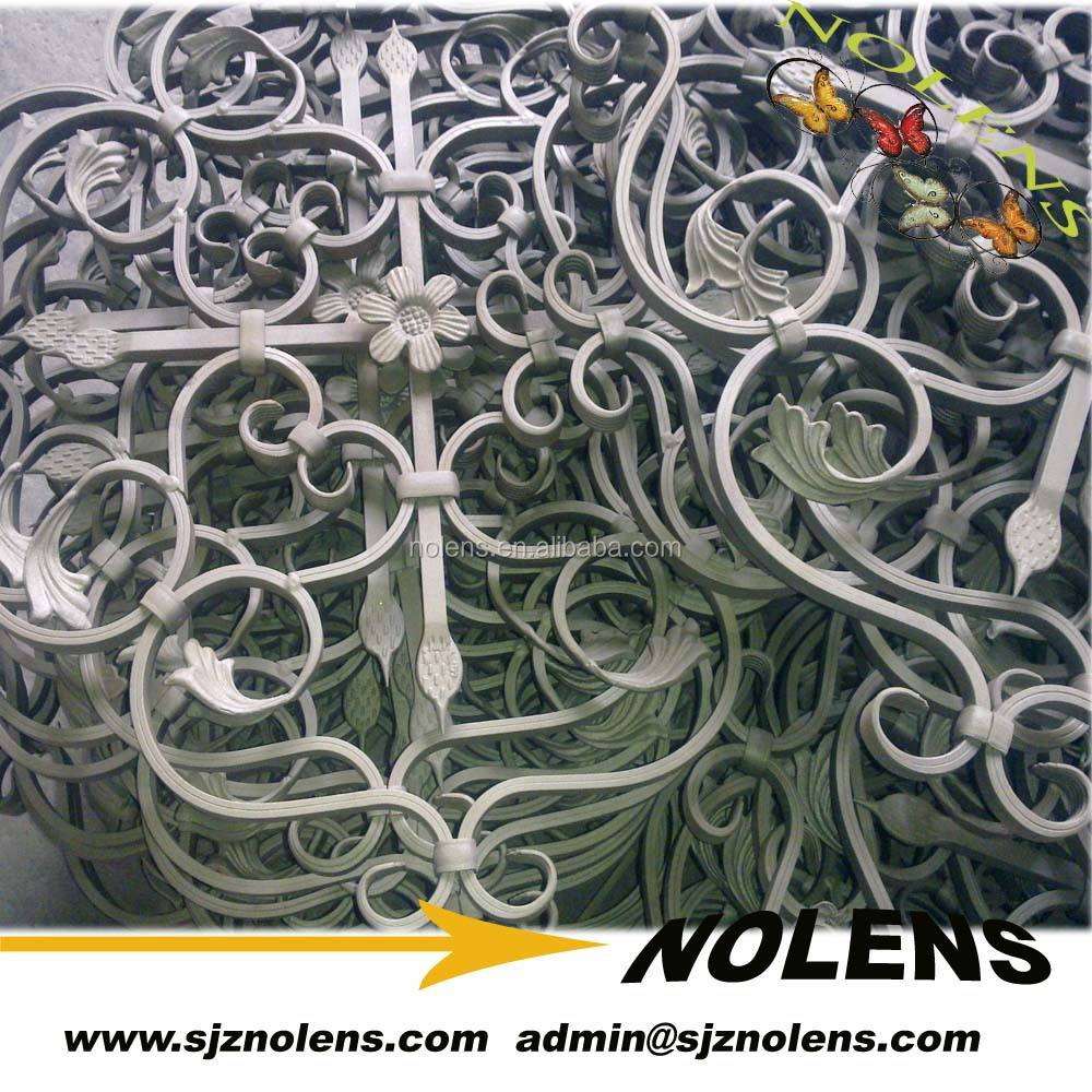 Customized Forged Steel Window Security Bars Design/Balcony Balusters