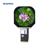 high resolution 2.5 inch mipi dsi round lcd display