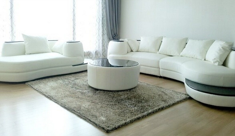 Modern Hot Designs Round Hotel Lobby Sofa Leather Half Moon Sofa ...