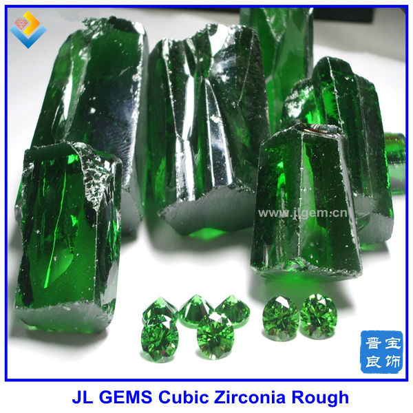 Synthetic Rude Emerald For Grade A,Wholesale Synthetic Cubic Zirconia Rough  Suppliers,Lab Created Rough Gems - Buy Emerald Cubic Zirconia Rough/ Raw
