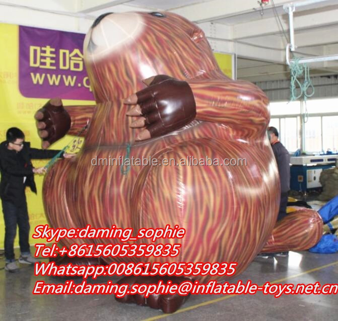 Giant Inflatable Giraffe Character For Outdoors Promotion