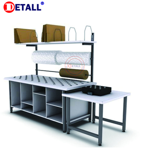 ESD Modular Packing Table Workbench for Workshop/Garage