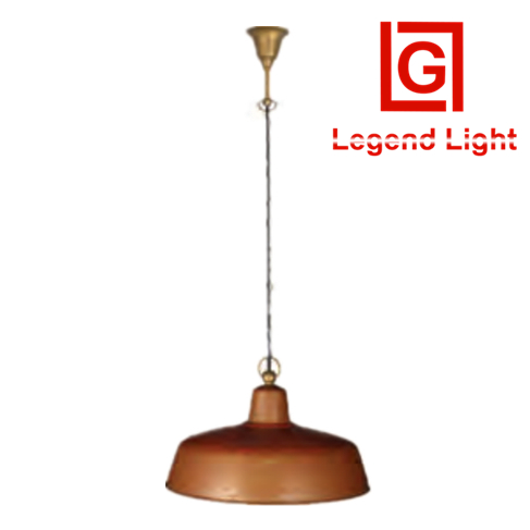 High-end european led copper ceiling lamp for balcony