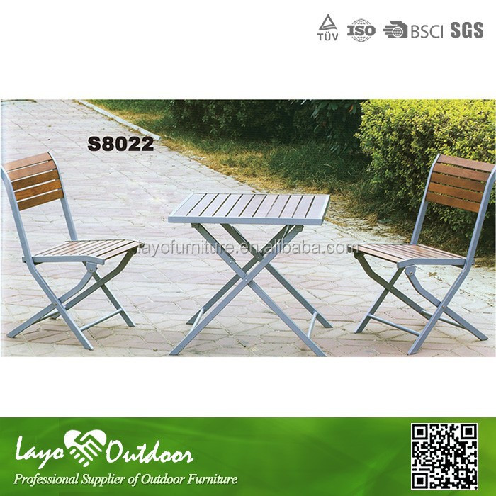 2015 best selling french bistro chairs, alum / steel french bistro chairs, french bistro chairs and table set S8022