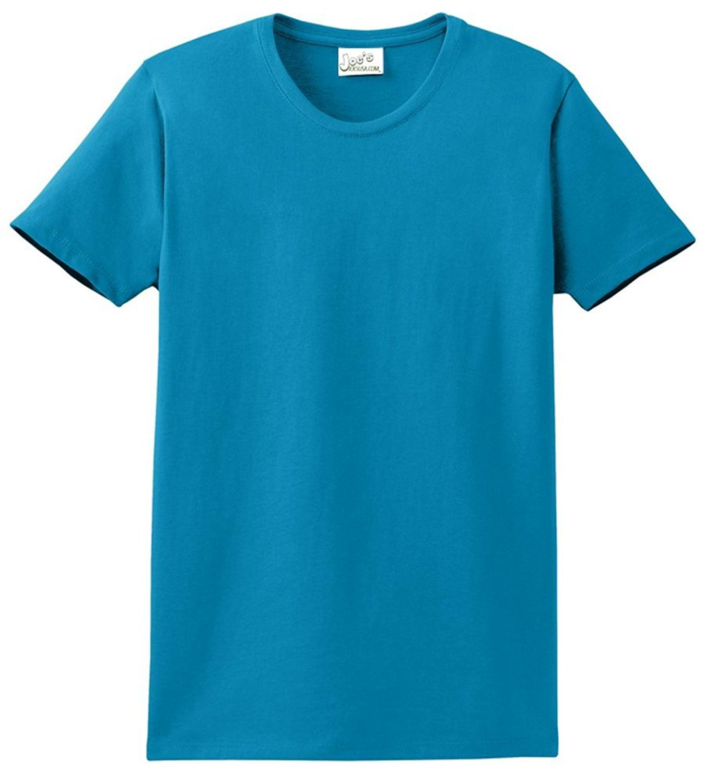be89de8cf85a Get Quotations · Joe's USA tm - Womens 6.1-Ounce 100% Soft Spun Cotton  Cotton T-