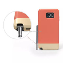 Ultra thin mixed colors phone case for samsung note 5
