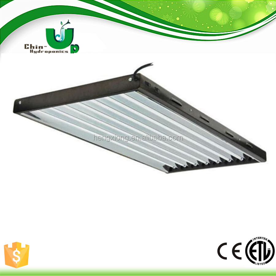Plant Growth Light 4ft Fluorescent Grid Fixture T5 Fixtures Lowes