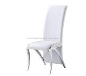Wholesale new arrival metal leg dining chairs for restaurant Y842