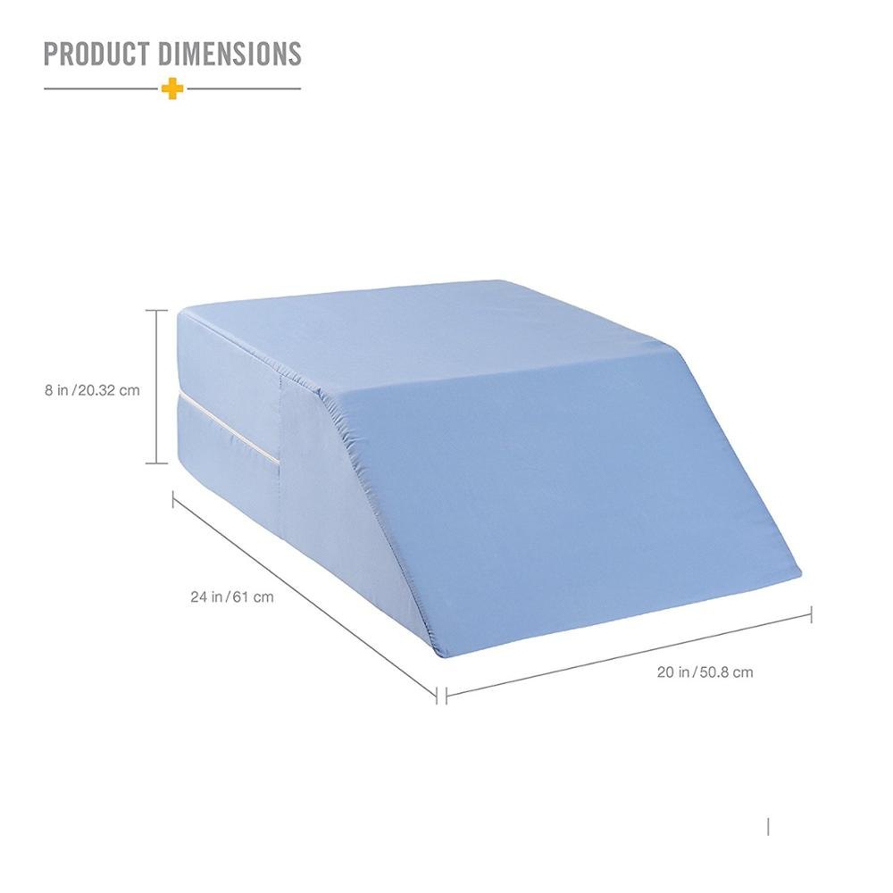 Bed wedge for legs - Ortho Bed Wedge Elevated Leg Pillow Supportive Foam Wedge Pillow For Elevating Legs Improved