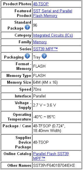 Active Components Programmable Ic Chip K9hcg08u1d-pibo