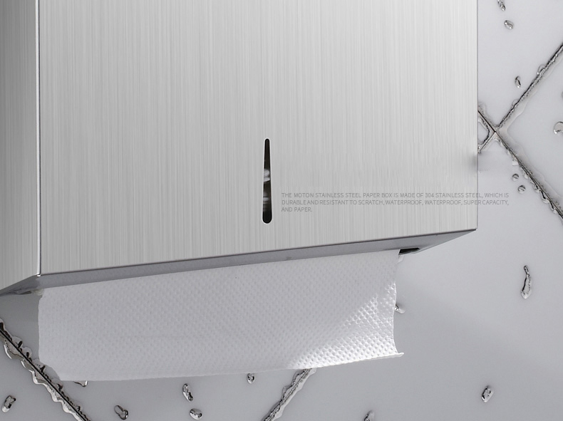 Wall mounted Public Place toilet stainless steel C fold manual hand paper towel dispenser
