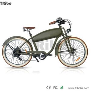Super power German leather saddle 50-60km range electric bicycle price in india
