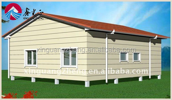modular ready made sandwich panel material house