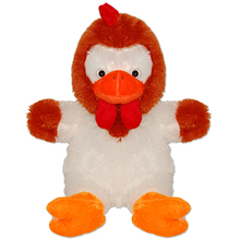 "15"" promotional Plush Adorable Stuffed chicken animal toy"