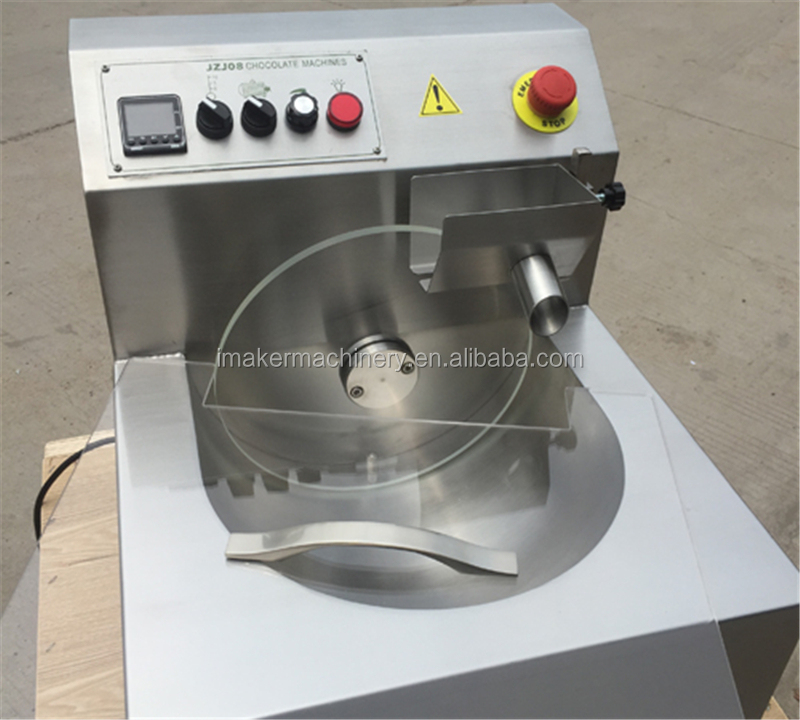 top quality 8kg/15kg Small chocolate tempering molding machine for sale