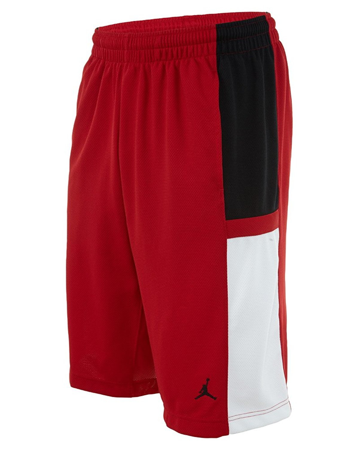 e9d417e6045 Buy Jordan Mens Nike Durasheen Jumpman Basketball Shorts-Black/Red ...