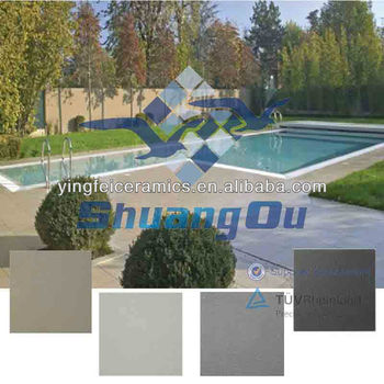 Ceramic tiles for swimming pools 600 600mm 24 x24 - Non slip tiles for swimming pools ...
