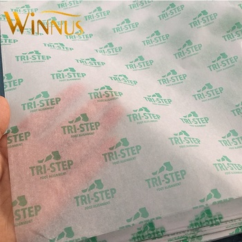 cheap logo print transparent white black garment shoes gift wrapping tissue paper for clothes