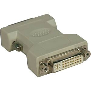 "Tripp Lite, Dvi-I To Dvi-D Dual Link Video Cable Adapter Dvi Adapter Dual Link Dvi-I (F) Dvi-D (M) Molded Beige ""Product Category: Computer Components/Video Cards & Adapters"""