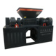 Large power molded double shaft tire cutter machine