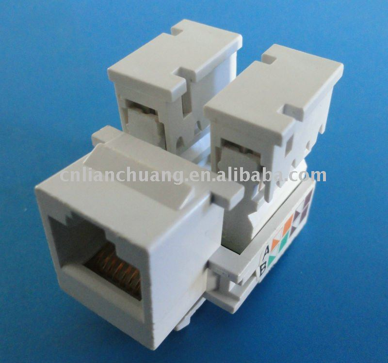 network cabling accessories cat5e jack