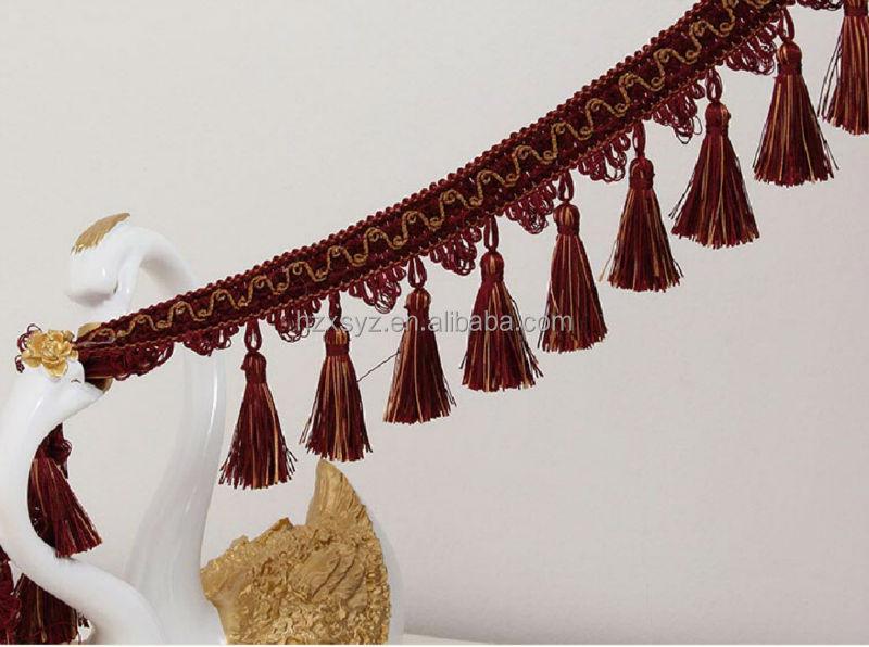 2017 New Design Handmade Curtain Tassel For Curtain Decoration ...