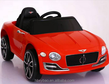 Toys 2018 New Model Kids Ride On Electric Car With Leather Seat
