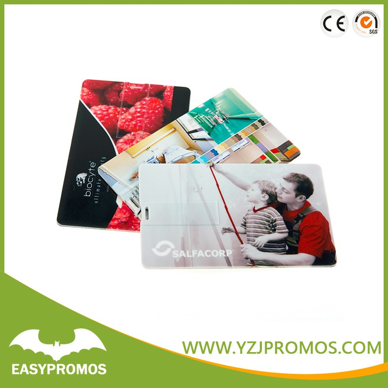 Wholesale Card USB Flash Drive with Custom Logo