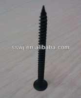 black self drilling screw for gypsum board