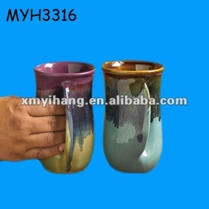 pottery ceramic hand USB warmer mug