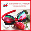 hot sales grosgrain ribbon hair bows with headband