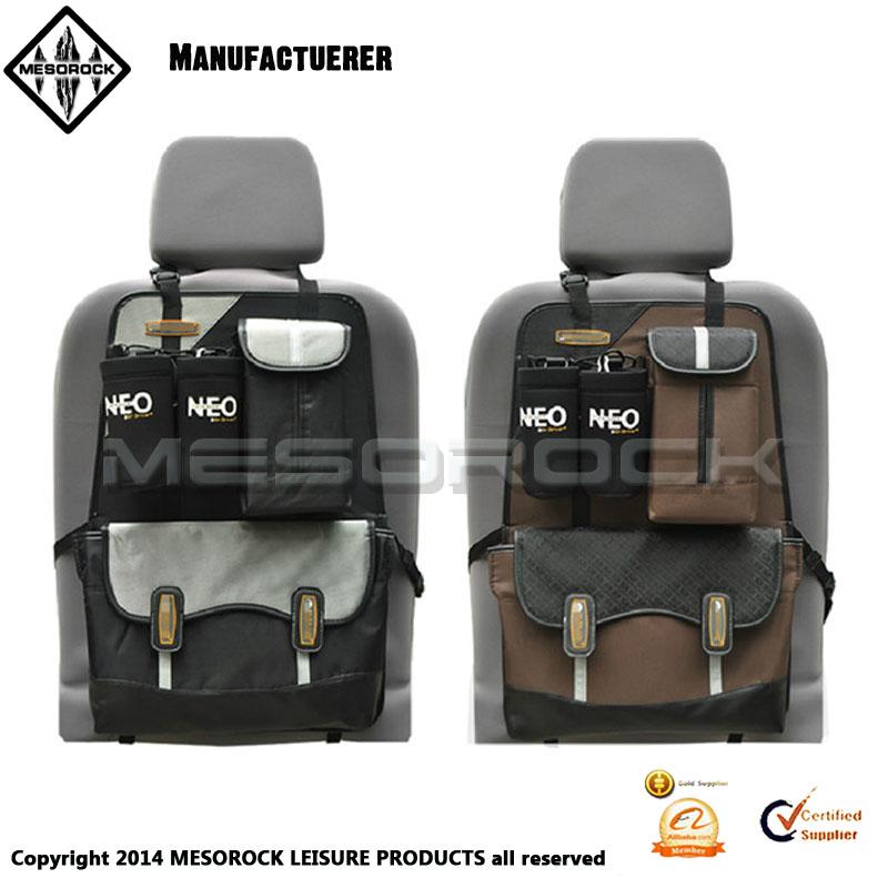 Truck Seat Organizer >> Deluxe Black Multi Pockets Car Truck Van Suv Back Seat Storage