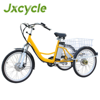 folding adult tricycle for shopping