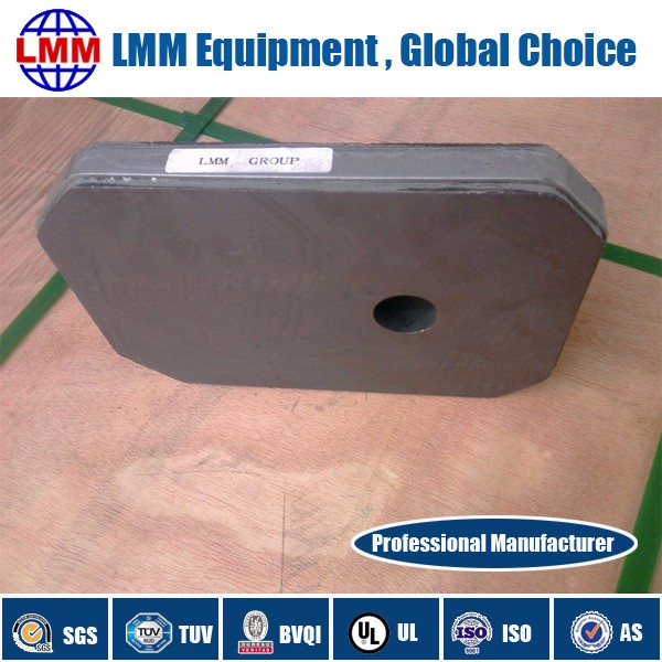 Tundish slide gate plate