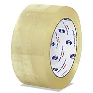 55 yd 1 roll 2 Width Tan Length Box King T901372T 3M 372 Carton Sealing Tape 2 Width