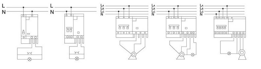 DZ47LE 2P 10A 230V~ 50HZ//60HZ Residual current Circuit breaker  RCBO