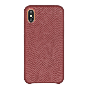 Oem Luxury Italian Real Genuine Leather Mobile Cell Phone Back Cover Case For Iphone X For Iphone 10 For Apple