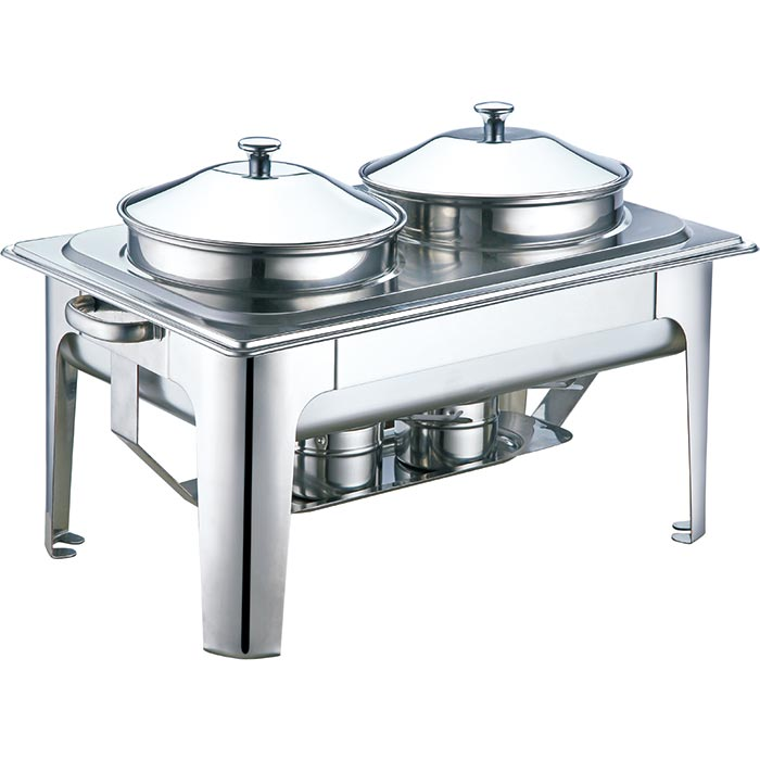 Oblong Roll Soup Marmiee Stainless Steel Chafing Dish