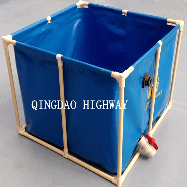 Pvc Tarpaulin Circle Or Rectangular Large Plastic Water Containers Or Tank  - Buy Large Plastic Water Containers,Large Plastic Water Containers,Large