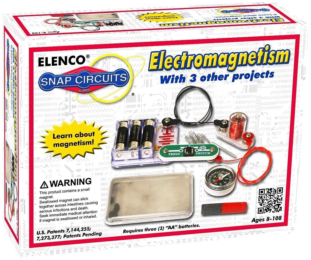 (USA Warehouse) ELENCO Snap Circuits SCP-08 Electromagnetism KitITEM#NO: 43E8E-UFE6 C2A9152